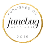 junebug weddings badge